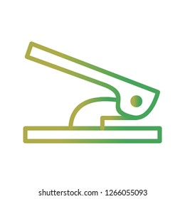 Hole Puncher Vector Icon Sign Icon Vector Illustration For Personal And Commercial Use...Clean Look Trendy Icon...