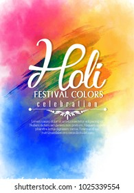 Holi, banner for Holi celebration