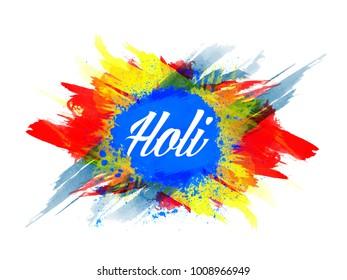 Holi, colorful Happy Holi background