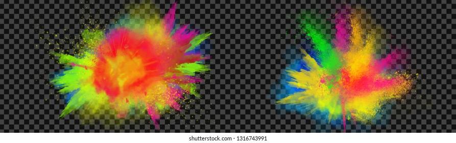 holi colour full splashs png backgroung