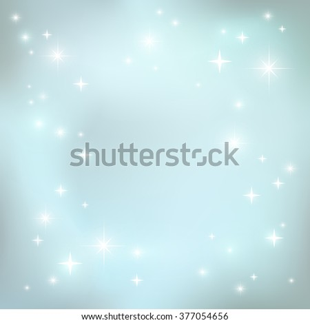 holiday background stars invitation greeting card stock vector
