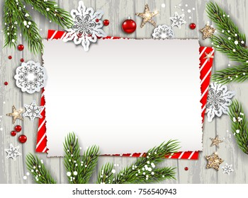 Christmas Card Background.Christmas Card On Wood Images Stock Photos Vectors