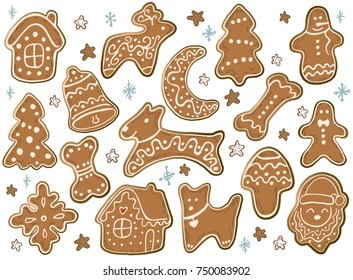 Christmas Cookies Icon Images Stock Photos Vectors Shutterstock