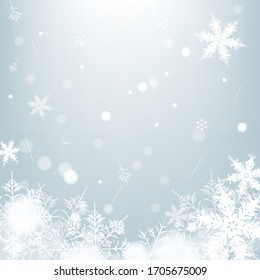 Holiday greeting with snowflake background.christmas background.