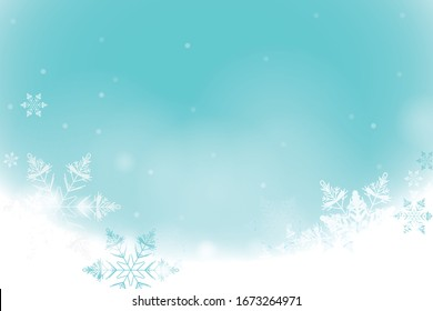 Holiday greeting with snowflakes background.christmas background.