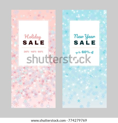 holiday offer shopping discount design copy stock vector royalty