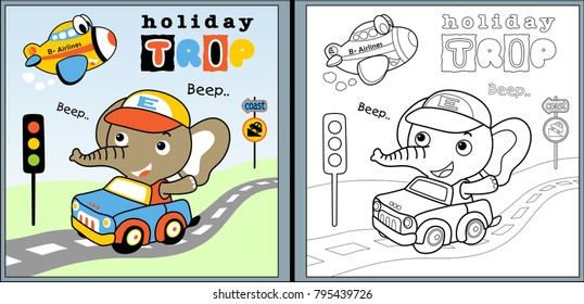 Vehicles Coloring Pages Images, Stock Photos & Vectors | Shutterstock