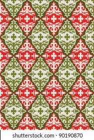 holiday wrap II: seamless pattern for Christmas or other holiday wrapping paper