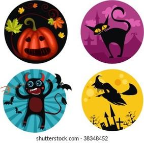holloween icons