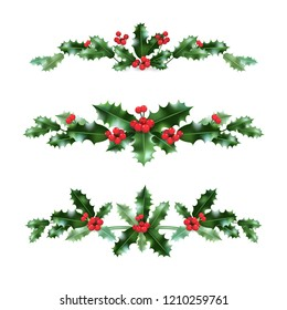 Holly decor set