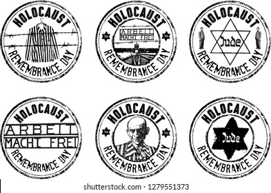 Holocaust Remembrance Day stamp set
