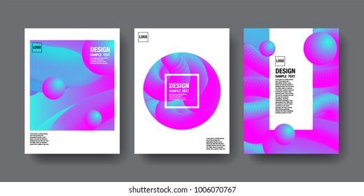 Hologram Abstact Background, Template Design, 3D vector, Holography Foil layout, Trendy design.