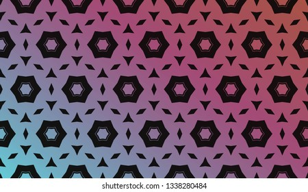 Hologram abstract background. for holiday decoration, holiday packaging Vector pattern