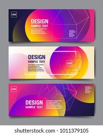 Hologram Abstract Background, Template Design, 3D vector, Holography Foil layout, Fluid Trendy design.