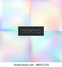 Hologram light gradient set