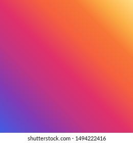 Holographic brand logo design. Color vector illustration. Background.