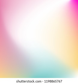 Holographic Colorful Abstract Blob Gradient Mesh Background / Texture