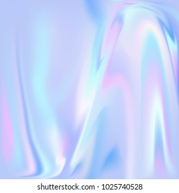 Holographic foil. Abstract wallpaper background. Hologram texture. Premium quality.  Modern vector design.