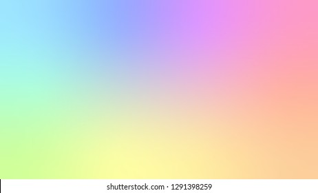 Holographic texture rainbow pastel color iridescent. Holographicfoil abstract vector background.