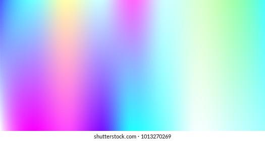 Pastel Summer Neon Gradient: Rainbow Foil 图片、库存照片和矢量图