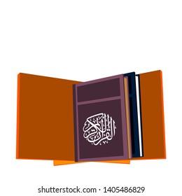the Holy Al-Qur'an Moslem guidance scriptute