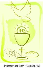 holy communion - background