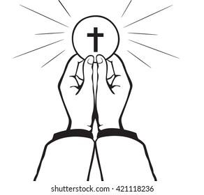 Holy Communion vector