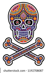 Holy Death, Day of the Dead, mexican sugar skull, vintage design t shirts