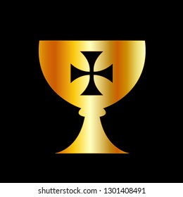 The Holy Grail or cup is a treasure, dish or stone with miraculous powers that provide happiness, eternal youth or sustenance in infinite abundance