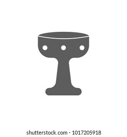 Holy Grail icon. Elements of religious signs icon for concept and web apps. Illustration  icon for website design and development, app development. Premium icon on white background