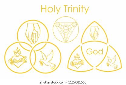 Holy Trinity symbol.