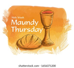 Maundy Thursday Images, Stock Photos & Vectors | Shutterstock