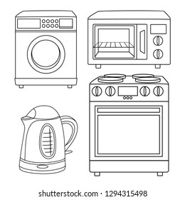 Stove Drawing Images Stock Photos Vectors Shutterstock