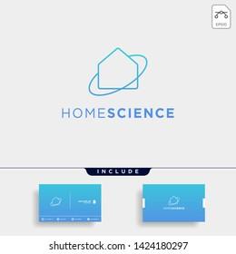 home architect logo minimalis design vector icon element isolated