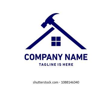 Home contruction logo