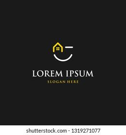 Home Creative Vector Logo Design