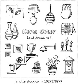Home Decor Doodle High Res Stock Images Shutterstock