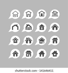 Home design icons