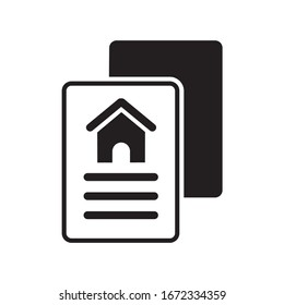 HOME DOCUMENT ICON , HOUSE BOOK ICON