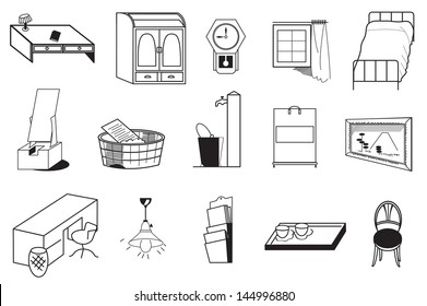 Home Furniture And Appliance Drawing Images Stock Photos Vectors Shutterstock