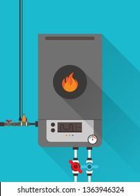 Home gas furnace 1