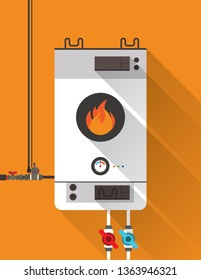 Home gas furnace 2