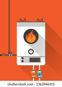 Home gas furnace 3
