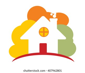 home house housing residence residential real estate icon