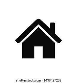 Home house symbol icon vector illustration
