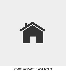 Home or house vector icon