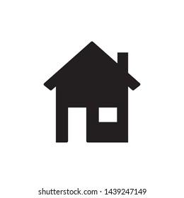 Home Icon. House Symbol - Vector