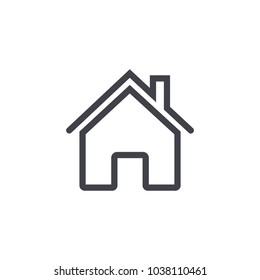 home icon , line design