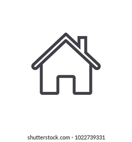home icon outline design