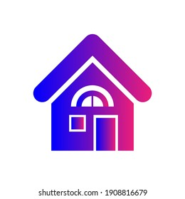 Home Icon. Real Estate, house, stay home icon.